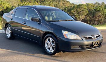 2006 Honda Accord EX W LEATHER SEAT full